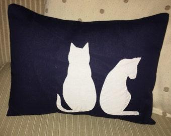 Cat Friends Pillow