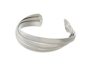 Silver Accent Bangle
