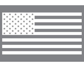US Flag  (Vinyl Decal)
