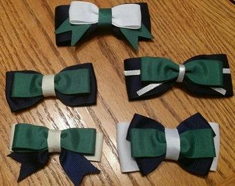 Uniform Colored Hair Bows