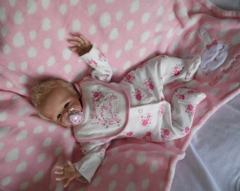 beautiful reborn baby girl Charlotte from elsie by marissa may