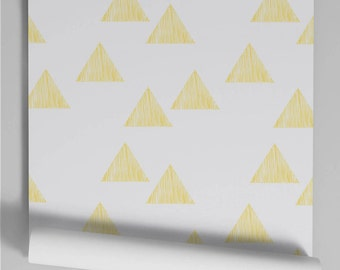 Wallpaper yellow Triangle