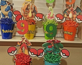 Pokemon Centerpieces-Mega Evolution-Set of 6