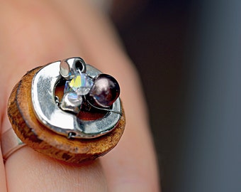 Ring metal and wood