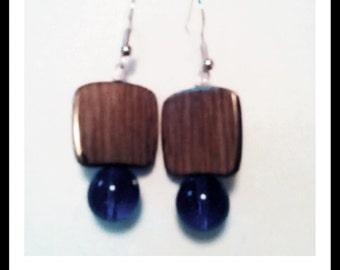 Unique Stone Earrings