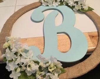 "Monogram ""B"" Wreath"