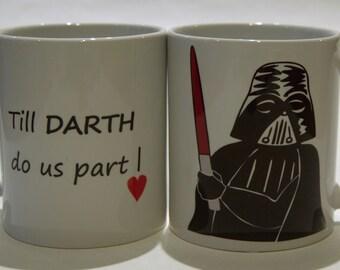 Darth Vader Star Wars mug - Till DARTH do us part!