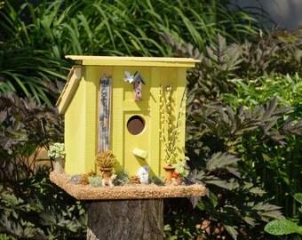 The Green House Bird House