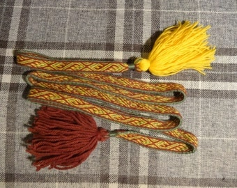 woven belts (to order)