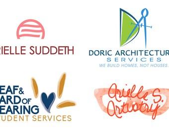 Custom Graphic Logo Design - Custom Branding - Bold Graphic Logo