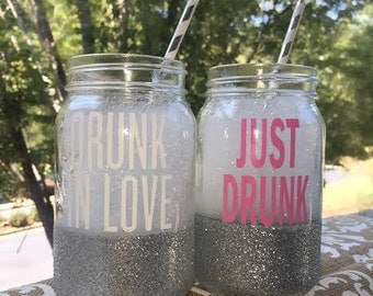 Drunk in Love/ Just Drunk- Beyonce inspired bachelorette favors