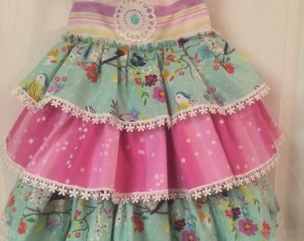 Halter style Ruffle Dress