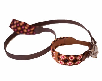 Medium Collar & Leash Set