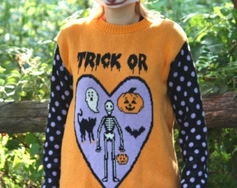 Totally Rad Halloween Sweater Preorder 2016
