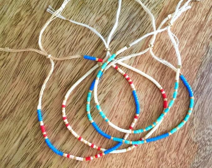 Morse code bracelet, custom bracelet, customized bracelet, customized jewelry, beaded bracelet, gift