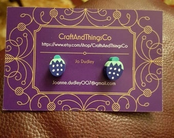 Handmade fruit  earings