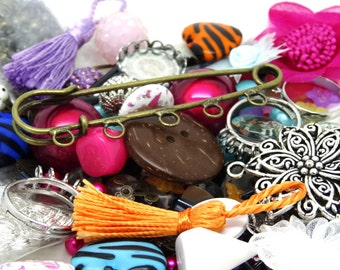 lots of beads and accessories for the jewelry, sewing, decoration creations