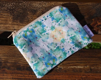 Equilibrium Print Coin Purse/ Zip Pouch