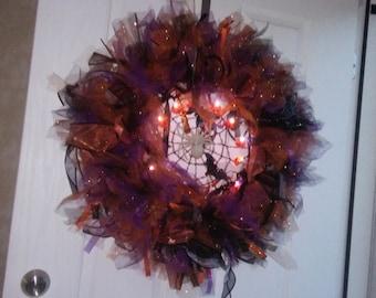 Holiday Halloween Wreath