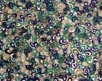 Tana lawn fabric from Liberty of London, Rainbow Rave