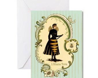 Set of 10 Victorian Yom Kippur/Rosh Hashanah Cards for the Jewish New Year 2016