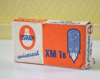 Osram XM 1B Vacublitz - Vintage camera flash bulbs