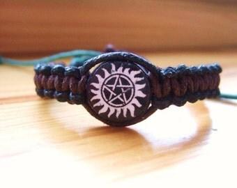 Supernatural Inspired Friendship Bracelet