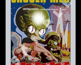 Invasion of the Saucer Men - 1957