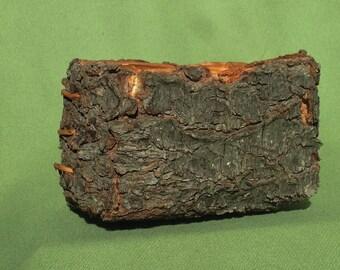 Folded Pine Bark Basket
