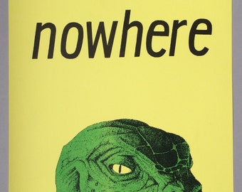 A3 Nowhere risographed film poster Gregg Araki