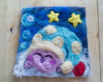 Wonderful picture of Kirby from organic sheep's wool