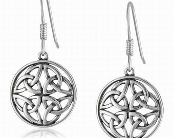 Celtic Knots earrings, Celtic Earrings