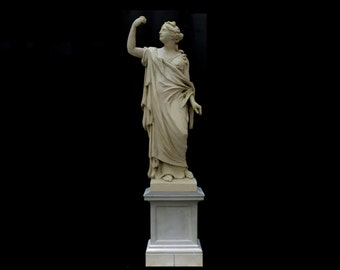Bronze sculpture, FEMALE BOZZETTO, reconstruction from Berlin City Palace