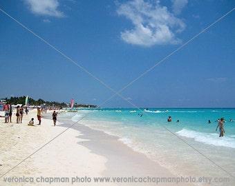 Playa del Carmen beach home decor art photography