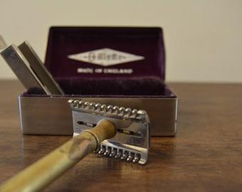 Vintage Gillette Razor (with metal box)