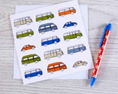 Campervan card 'Part of the family'