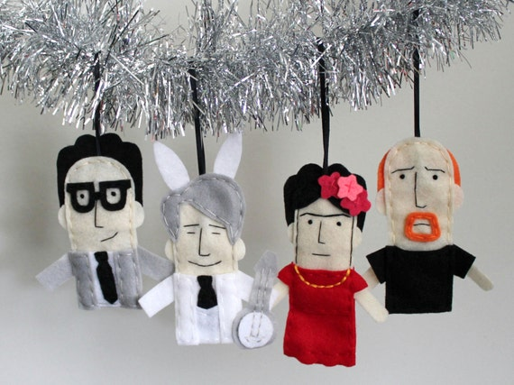 Pop culture ornaments