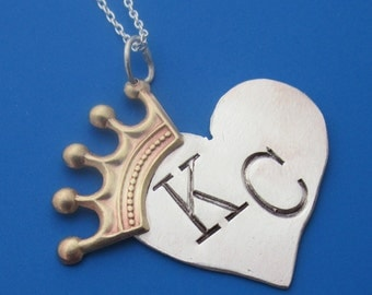 Kansas City Royals Crown Necklace