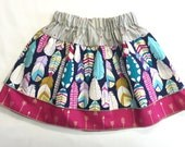 Toddler/Girls 3-Tier Skirt - Girls' Feather Skirt - Toddler Outfit