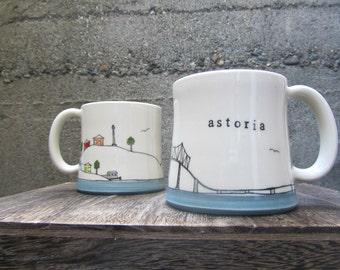 Astoria, OR Mug
