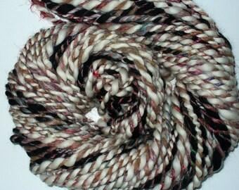Hand Spun Multi Fibered Yarn for Knitting Yarn