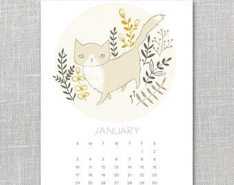 2016 Calendar Printable Instant Download