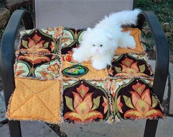 Cat Bed, Cat Quilt, Cat Blanket, Small Dog Blanket, Fabric Pet Bed, Pet Blanket, Crate Mat, Travel Pet Blanket, Pet Bed, Indoor Pet Bed