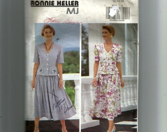 Butterick Misses' Top and Skirt Pattern 6190
