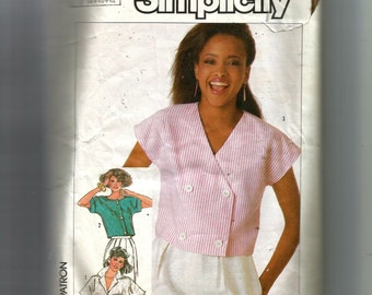 Simplicity Misses' Set of Tops Pattern 7452