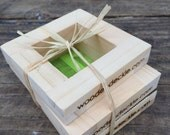Handmade Business Card and Gift Tag Mold and Deckle Set for Paper Making