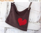 30%OFF SUPER SALE- Valentines Day Hat-Upcycled Clothing-Fleece-Infant