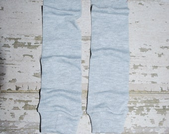 solid grey, baby leg warmers, leggings, peach cuff, legwarmers, infant, toddler, girl, boy, outfit, clothes, onesies, easter, pastel, child