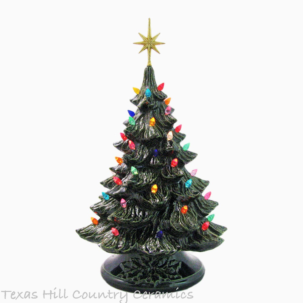 Ceramic Tabletop Christmas Tree