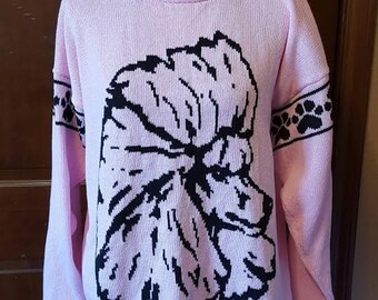 Custom Knit Show Poodle Head Sweater ***Create your own sweater see below*****